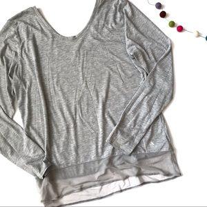 Adidas Women's Grey Climalite Top Size XL